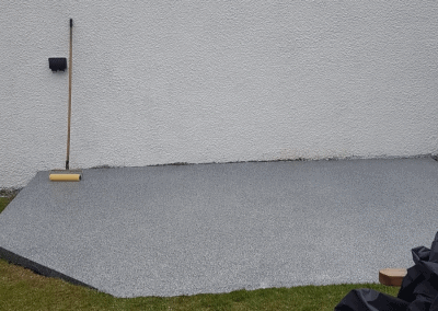 resin bound patio Glasgow