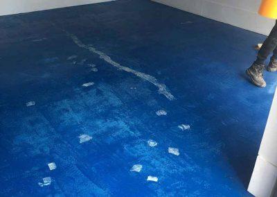 garage floor installer Glasgow, Scotland