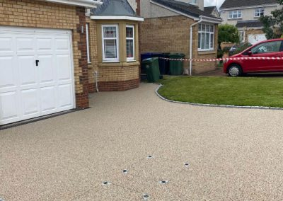 after resin driveway Paisley