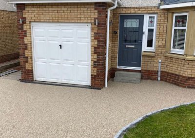 after resin driveway in Paisley