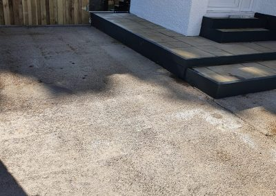 resin driveway in Glasgow East End