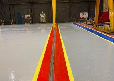commercial flooring contractor Glasgow